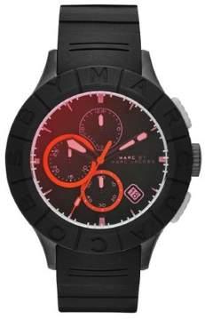 Marc Jacobs Marc by Buzz Track MBM5546 Black/Red Analog Quartz Men's Watch
