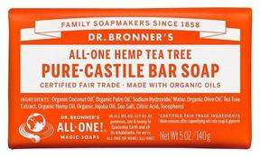 Dr. Bronner's All One Hemp Tea Tree Pure Castile Bar Soap - 5oz
