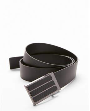 Express three stripe plaque belt
