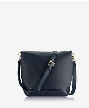 GiGi New York | Andie Crossbody In Ink Napa Luxe | Ink napa luxe