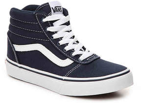 Vans Boys Ward Toddler & Youth High-Top Sneaker