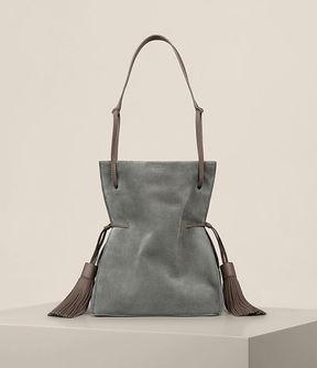 AllSaints Freedom Suede Bucket Bag