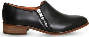 Office Lex zipped leather loafers