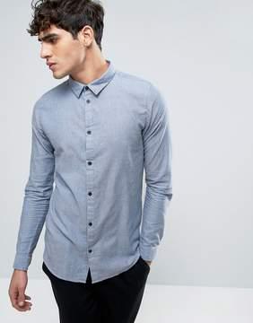 Dr. Denim Damian Slim Shirt Blue Mix