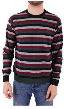 Sun 68 Men's Multicolor Cotton Sweater.