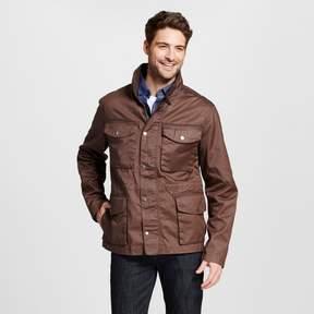 Merona Men's 4 Pocket Field Jacket Brown