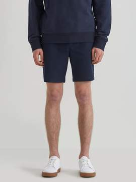 Frank and Oak Woven Stretch Twill Jogger Shorts in Navy Blazer