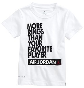 Jordan Toddler Boy's More Rings Than Your Favorite Player Dri-Fit T-Shirt