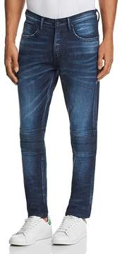 PRPS Goods & Co. Slim Fit Moto Jeans in Chears