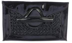 Bottega Veneta Patent Leather Clutch