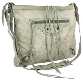 Balenciaga City Green Leather Handbag