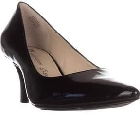 AK Anne Klein Isana Pointed-toe Pumps, Black Patent.