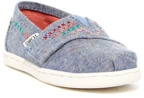 Toms Alpargata Speckle Chambray Slip-On Flat (Baby, Toddler, & Little Kid)