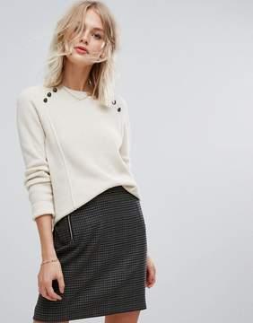 Esprit Button Detail Sweater