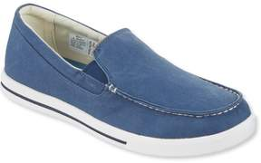 L.L. Bean L.L.Bean Men's Sunwashed Canvas Sneakers, Slip-On