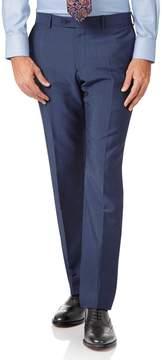 Charles Tyrwhitt Blue Slim Fit Italian Wool Luxury Suit Pants Size W34 L34