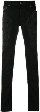 Just Cavalli studded slim jeans