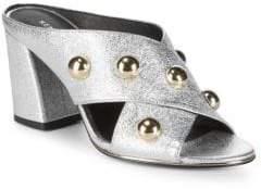Kenneth Cole New York Lorri Block Heel Mules