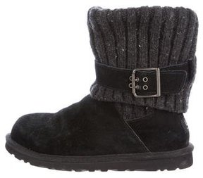 UGG Cambridge Knit Ankle Boots