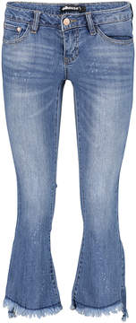 Dollhouse Denim Distressed Flare Jeans - Juniors