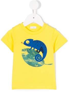 Il Gufo lizard print T-shirt