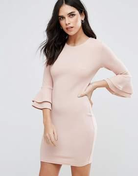 AX Paris Flute Sleeve Mini Dress