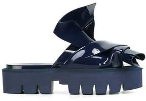 No.21 knotted slider sandals