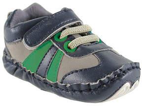 Luvable Friends Blue & Green Explorer Sneaker - Boys