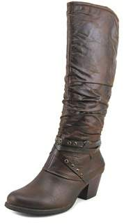 Bare Traps Baretraps Mary Women Round Toe Synthetic Brown Knee High Boot.