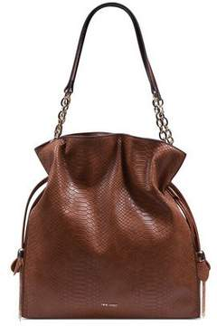 Nine West Women's Fuller Shoulder Large Bucket Bag