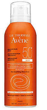 Eau Thermale Avene SPF 50+ Body Spray Sunscreen Lotion by 5oz Lotion)