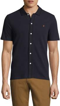 Farah Men's Homerton Pique Cotton Polo