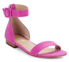 424 Fifth Chantella Suede Sandals