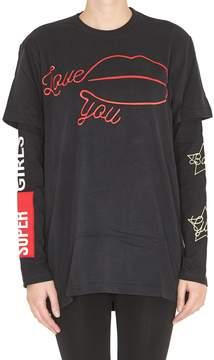 Chiara Ferragni Love You Long Sleeves Tshirt