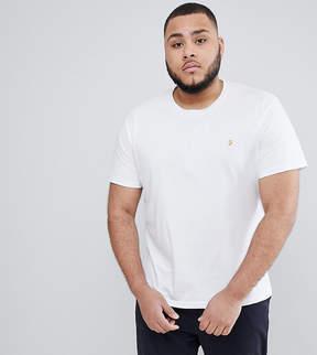 Farah PLUS Farris Slim Fit T-Shirt in White