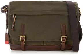 Fossil Defender Canvas Laptop Messenger Bag
