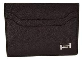 Tod's Men's Brown Leather Card Holder.