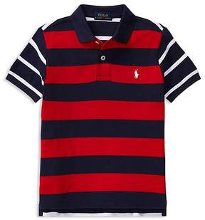 Polo Ralph Lauren Boys' Mesh Pieced Polo - Little Kid