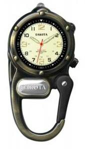 Dakota Watch Co. LED Microlight Clip Watch by