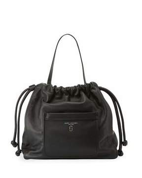 Marc Jacobs Tied Up Leather Hobo Bag, Black - BLACK - STYLE
