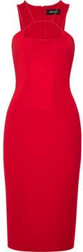 Cushnie et Ochs Cutout Stretch-knit Dress - Red