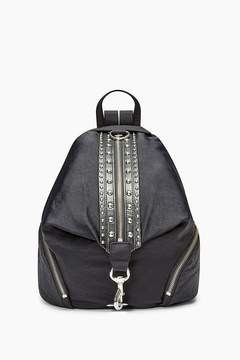 Rebecca Minkoff Julian Nylon Backpack With Studs - NATURAL - STYLE
