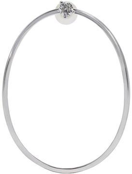 Delfina Delettrez White Gold Medium Ear-Clipse Earring