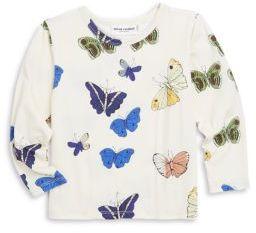 Mini Rodini Baby's, Toddler's, Little Girl's & Girl's Butterflies Tee