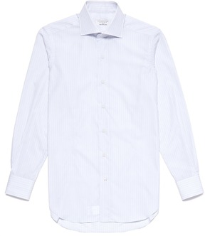 TOMORROWLAND Stripe cotton poplin shirt