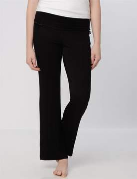 A Pea in the Pod Bow Detail Maternity Sleep Pants- Solids