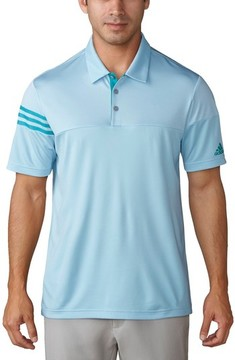 adidas Men's Regular Fit 3-Stripes Golf Polo