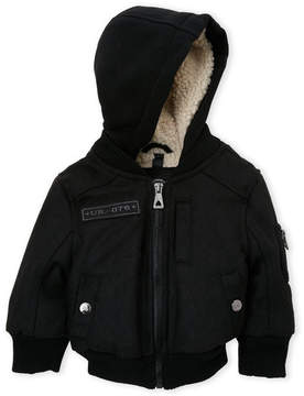 Urban Republic Infant Boys) Hooded Patch Bomber Jacket