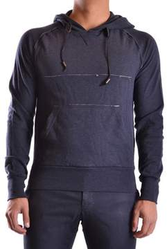 Galliano Men's Blue Cotton Sweatshirt.