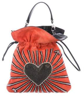 Les Petits Joueurs 2018 Big Trilly Heart Cupid Bag